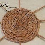 Шаг 7 Плетение круга из 8 лучиков