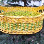 Корзина плетения