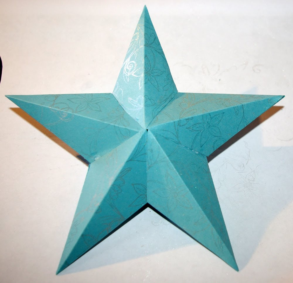 Как сделать бумажную звезду выпуклая фото 153