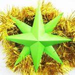 Объемная звезда из бумаги — пошаговая инструкция