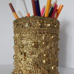 Красивая подставка для карандашей