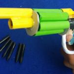 Пистолет из трубок стреляющий