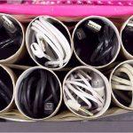 Втулка для кабелей и шнуров органайзер