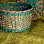 Готовое изделие плетения