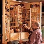 Настенный шкаф для инструментов для дедушки