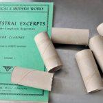Будем использовать вот такие рулоны от туалетной бумаги:
