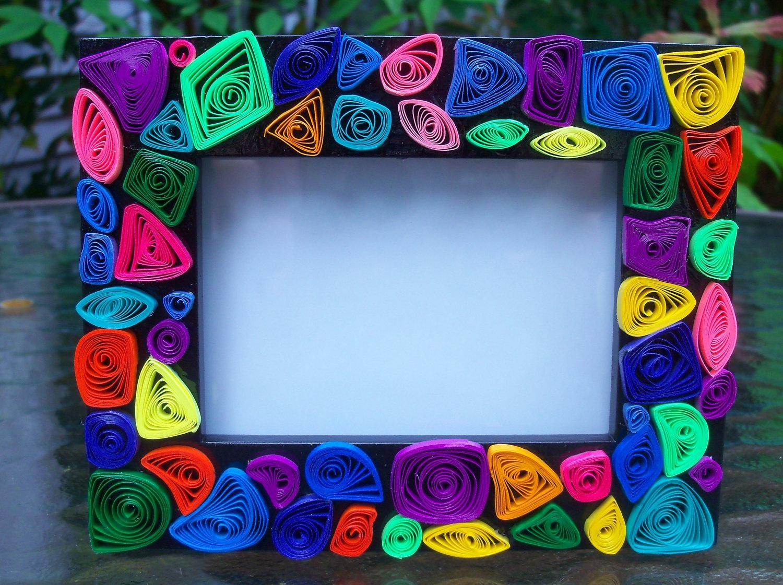 Красивые рамки из бумаги своими руками фото