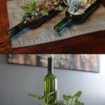 Интересный вариант применения бутылки