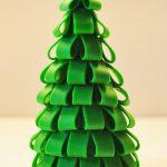 Пластилиновая елка на фото