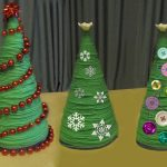 Нитяные елки