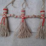 Или можно воспользоваться обычной пряжей для вязания