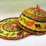 Посуда посредством плетения