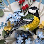 Поделка птицы