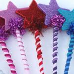 Разноцветные палочки из фетра