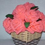 Торт из роз