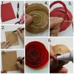 Спиралевидные розы