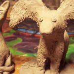 Фигуры из глины