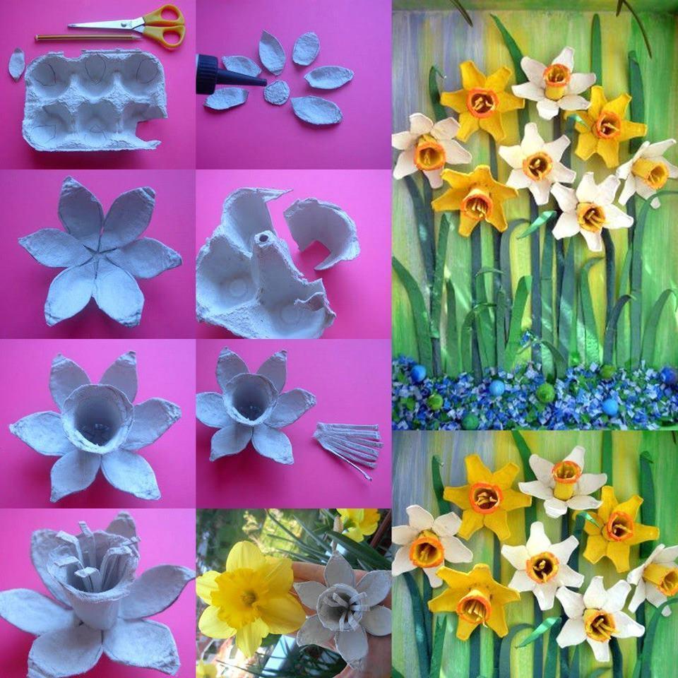 Мастер класс по изготовлению поделки цветов