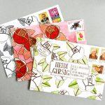 Стильные самодельные конверты