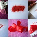 Как сделать красивое украшение к конверту