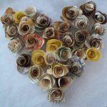 Розы сердце
