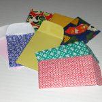 Разноцветные конверты