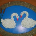 Дуэт двух лебедей