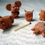 Миниатюры из глины