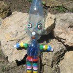Фигурка человечек из бутылки