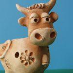 Глиняная корова