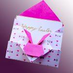 Нежный розовый конверт