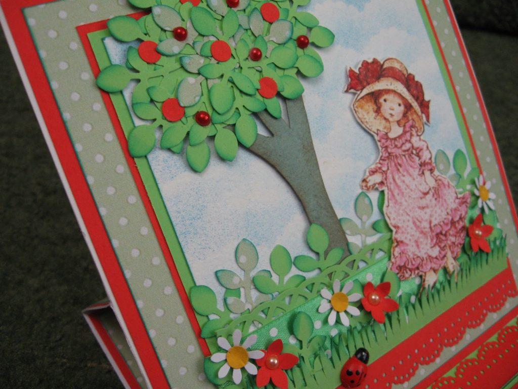 Поделка открытка для бабули