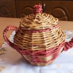 Плетенный чайник