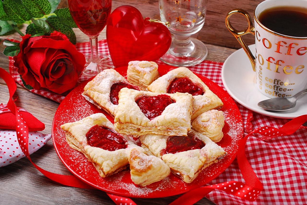 Фотография День всех влюблённых сердечко
