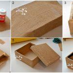 Коробка шкатулка своими руками