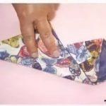 Чехол для ножниц из ткани