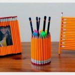 Декор карандашами