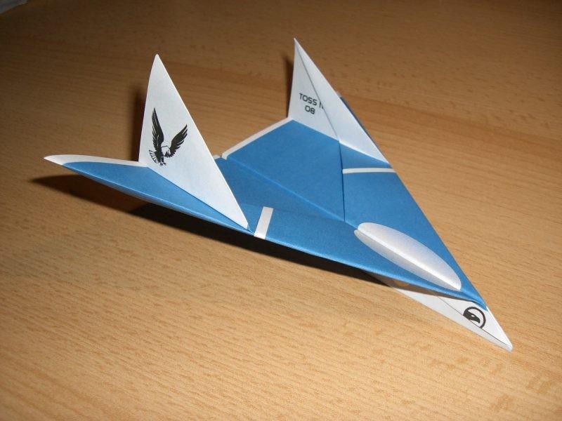 модели бумажного самолетика
