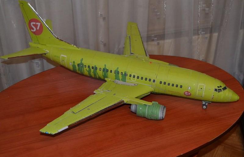 модели самолета S7