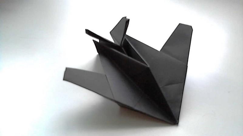 самолет стелс из бумаги