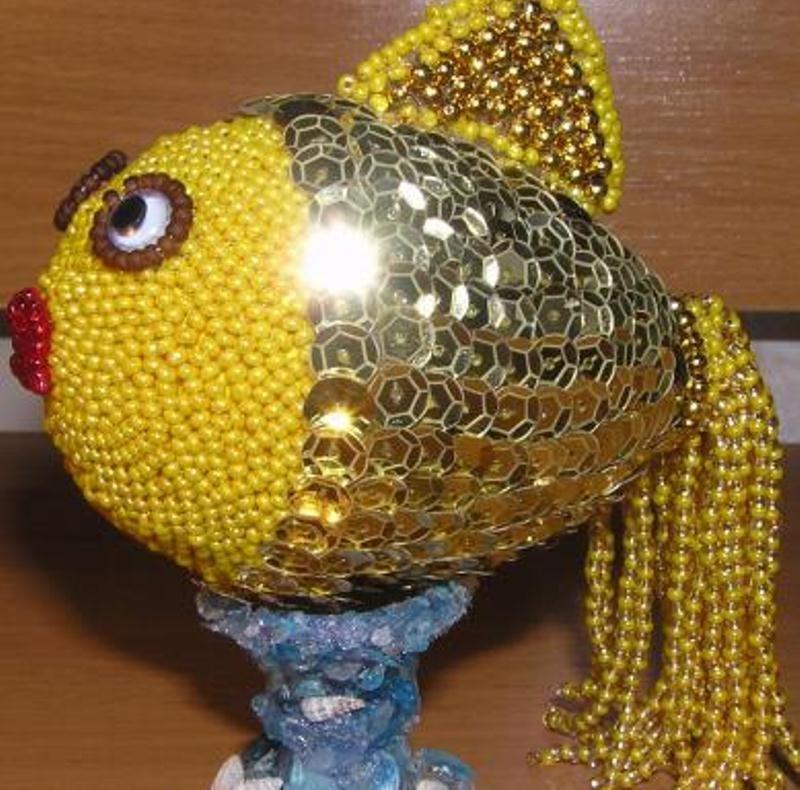 золотая рыбка из киндера