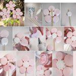 Цветок из зефира