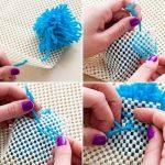 Мастер-класс по созданию коврика из пряжи