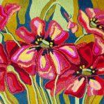 Цветок из пряжи своими руками для декора