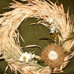 Веночек из листьев кукурузы