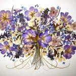 Букет сиреневых цветочков