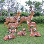 Семья оленей из гипса своими руками