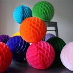 Бумажные шары для украшения