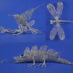Примеры насекомых из фольги