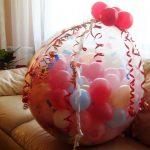 Подарок для ребёнка - шар с сюрпризом